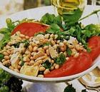 Салат по-итальянски с тунцом и фасолью
