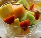 Салат из дыни с фруктами