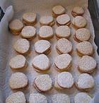 Рассыпчатое печенье с творожной начинкой