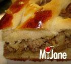 Пирог с мясом на дрожжевом тесте