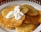Творожно-картофельные лепешки
