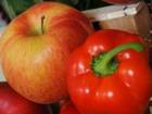 Сладкий перец с яблоками и корицей