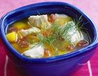Рыбный суп из филе окуня или трески