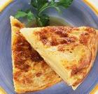 Сырная запеканка с перцем