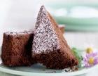 """Торт шоколадный """"Под снегом"""""""