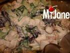 Быстрый салат с красной фасолью