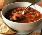 Суп томатный с курицей