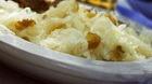 Салат картофельный с кислой капустой