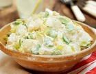 Картофельный салат с йогуртовой заправкой