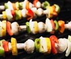 Запеченные овощи на шампурах