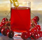 Вишневый сок с сахаром