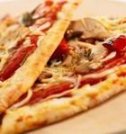 Пицца с шампиньонами по-быстрому