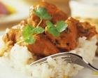 Курица с рисом под сырным соусом