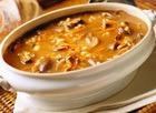 Суп грибной с крупой