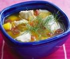 Рыбный суп с морской капустой