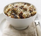 Рис с грибами по-милански