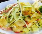 Салат куриный с бананами