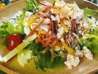 Салат картофельный с мясом криля