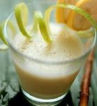 Лимонно-сметанный напиток