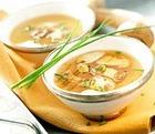 Суп из сушеных белых грибов с картофелем и перловой крупой