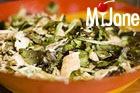 Салат из курицы с заправкой из соевого соуса
