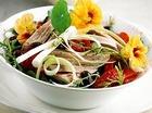 Салат из хамсы и овощей