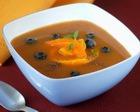 Суп из смородины и персиков
