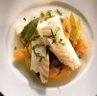 Филе рыбы под соусом