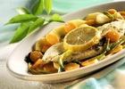 Рыба в чесночном соусе