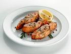 Шашлык из лосося с соевым соусом