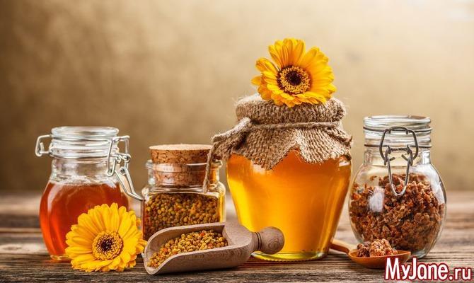 Пчелиная семья: мед, прополис и перга