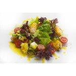 Салат куриный с томатами черри