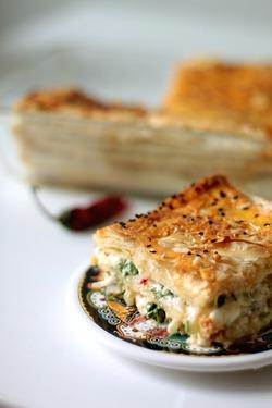 Греческий пирог с брынзой