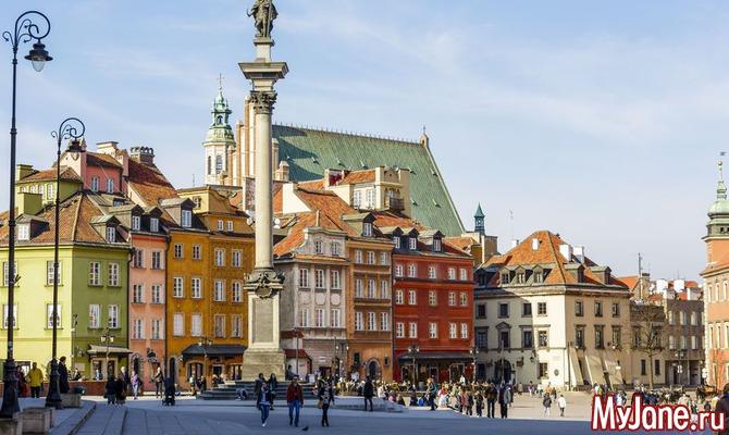 По Польше без помощи туристического агента. Часть 1. Варшава