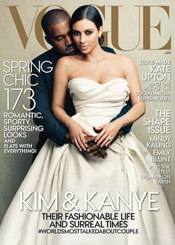 Номер журнала Vogue с Ким Кардашьян побил рекорд продаж