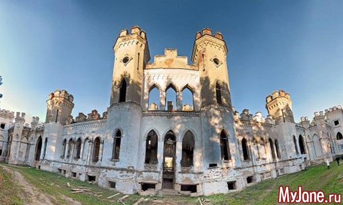 Путешествуем по Беларуси. Замок Пусловских в Косове