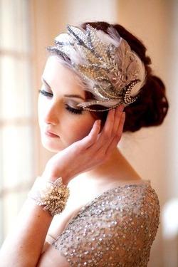 Образ невесты в стиле ретро: Трессуар