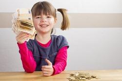 Бог современного ребёнка - деньги