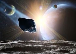 На жизнь Земли вновь покушается метеорит