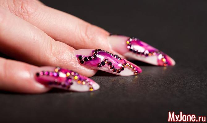 Какие бывают украшения для ногтей