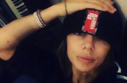 Анна Седокова пострадала в ДТП