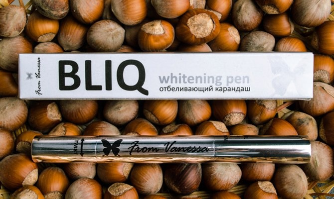 Безопасно отбеливаем зубы дома вместе с карандашом Bliq From Vanessa