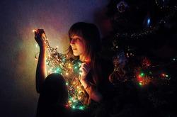 Магия новогодних огоньков