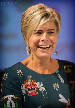 Принцесса Лорентин в Амстердаме 10 декабря