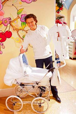 Для будущего ребенка Прохор Шаляпин покупает все самое лучшее и дорогое