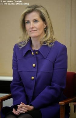 Софи Уэссекская в Вулвиче 8 декабря 2014 года