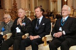 Великий герцог Анри встретился с ветеранами Битвы при Арденнах