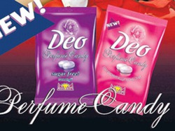 Новинка: сладкие конфеты против пота