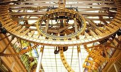 В Центральном детском магазине на Лубянке установлены самые большие механические часы в мире