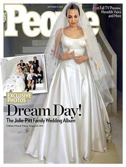Анджелина Джоли рассказала о неприятностях на своей свадьбе